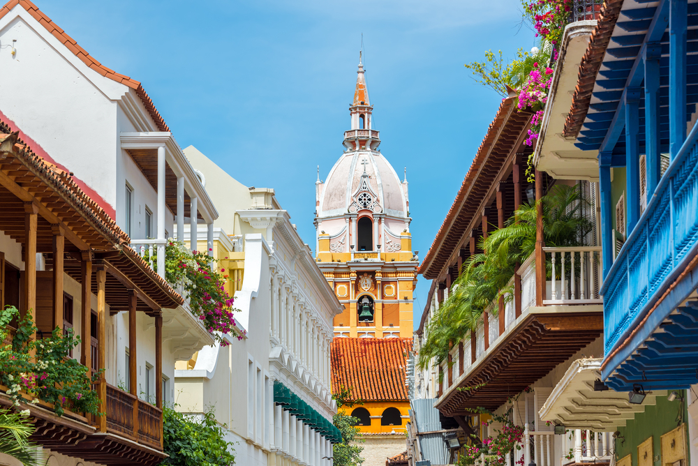 Colombia tour for females Cartagena